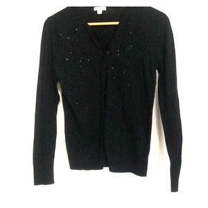 Nero a cardigan with jeweled detailing